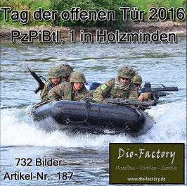 Panzerpionierbataillon 1 in Holzminden 2016