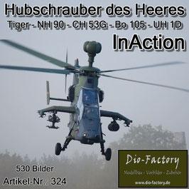 Hubschrauber des Heeres InAction