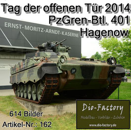Panzergrenadierbataillon 401 in Hagenow 2014