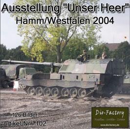 """Ausstellung """"Unser Heer 2004"""" in Hamm/Westfalen"""
