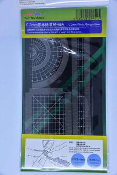 Filmic Gauge 0,2 mm silver - TMT