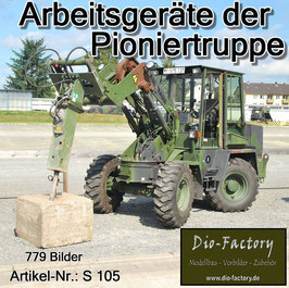Arbeitsgeräte der Pioniertruppe - SONDERAUFLAGE