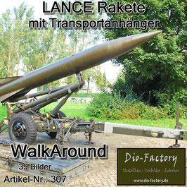 Lance Rakete mit Transportanhänger