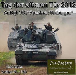 """Artillerie-Regiment 100 """"Freistaat Thüringen"""" 2012"""