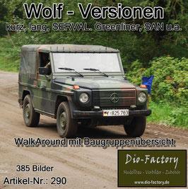 Wolf Versionen