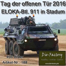 ELOKA-Btl. 911 in Stadum 2016