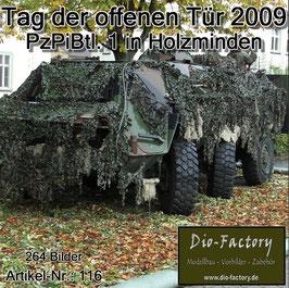 Panzerpionierbataillon 1 in Holzminden - 2009