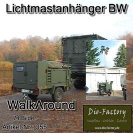 Lichtmastanhänger der Bundeswehr