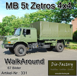Mercedes 5 to. Zetros 4x4