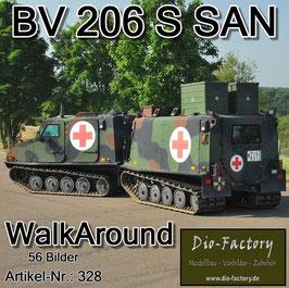BV 206 S Sanitätsausführung