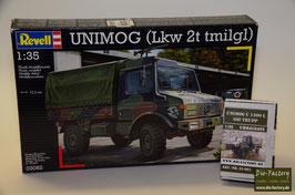 Unimog GSI-Trupp in 1:35 incl. Basisbausatz Unimog U 1300 L von Revell