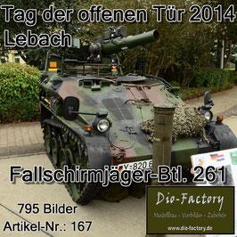 Fallschirmjäger-Btl. 261 in Lebach 2014