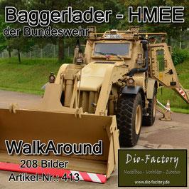 """""""HMEE"""" - Baggerlader der Bundeswehr"""