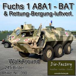 TPZ Fuchs 1 A8A1 BAT & Rettung-Bergung-luftverl.