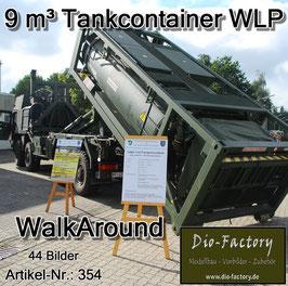 9m³ Tankcontainer Wechselladepritsche