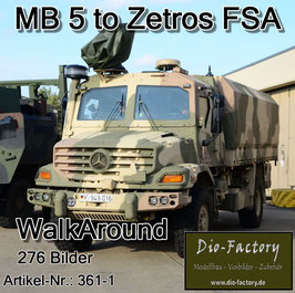 Mercedes 5 to. Zetros 4x4 FSA