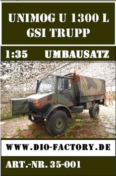 Unimog GSI-Trupp in 1:35