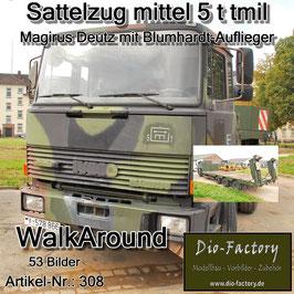 Sattelzug mittel 5 t tmil Magirus Deutz