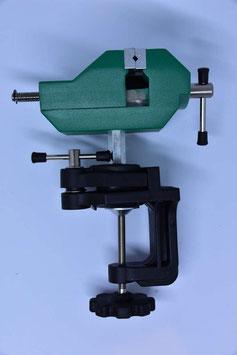 Mini-Schraubstock mit Gelenk und Tischbefestigung