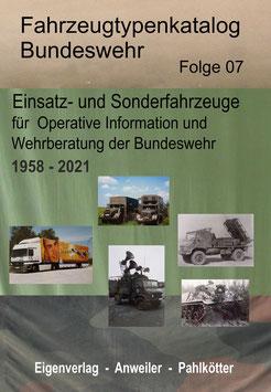 Fahrzeuge OP-Info und Wehrberatung - Publikation