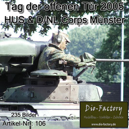 Heeresunteroffiziersschule & D/NL Corps in Münster - 2005