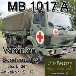 MB 1017 A - Varianten der Bundeswehr