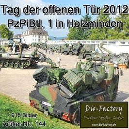 Panzer-Pionier-Bataillon 1 in Holzminden - 2012