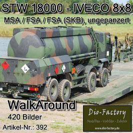 Straßentankwagen STW 18000 - Versionen