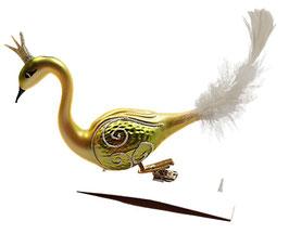 Paradiesvogel gold-gelb-grün, letzte Stück