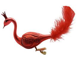 Paradiesvogel dunkel rot, letzte Stück
