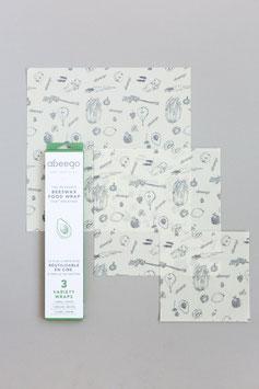 Emballage réutilisable (3x)