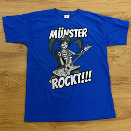 """Münster rockt!!!"" royal-blau"