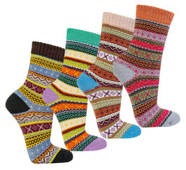 Damen Socken im Skandinavian Style | 3er Pack