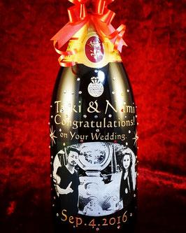【 シャンパン マグナムボトル】フランス産バロン ド マルモン ブリュット マグナム 1500ml スパークリングワイン スワロフスキー付き ラッピング無料