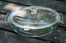 名入れ ロゴ入れ 耐熱ガラス アレンチン レンジココット 結婚祝 新築祝 iwaki オリジナル ギフト おしゃれ 名前