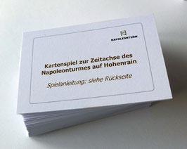 Kartenspiel zum Napoleonturm und zur Thurgauer Geschichte