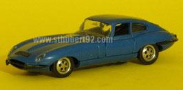Jaguar Type E bleu copie tchécoslovaque Norev