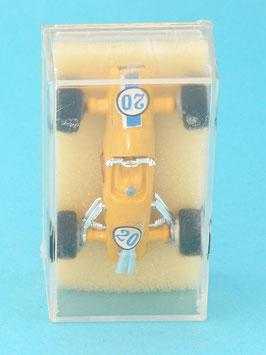 Guisval Brabham F1 Jaune Pergusa N°20 neuf en boite
