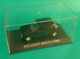 PEUGEOT 205 gti 1985 1.6 noire neuve en boite