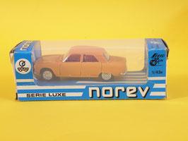 Norev Peugeot 304 berline orange  Plastigam N° 89 modèle rare avec jantes à inserts
