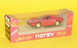 Lancia Stratos rouge jet car avec sa boite