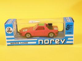 Norev Fiat X1/9 rallye Abarth  Plastigam N° 215