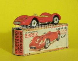 Maserati sport 200 si rouge Norev