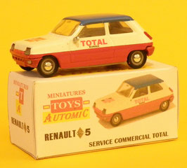 Toys Automic RENAULT 5 SERVICE COMMERCIAL TOTAL