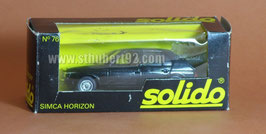 Solido Simca Talbot Horizon noir neuf en boite