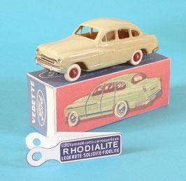 Norev Ford Vedette 1954 première version avec sa boite reproduction offerte .