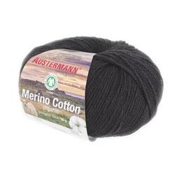 Merino Cotton organic - 02 schwarz