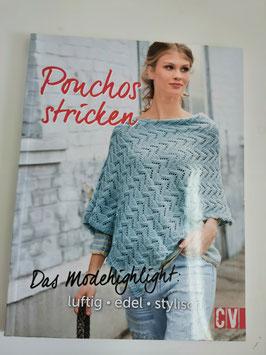 Ponchos stricken - das aktuelle Modehighlight