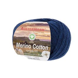 Merino Cotton organic - 22 indigo