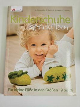 Kinderschuhe strickfilzen - Schuh/Schaadt/Reith/Diepolder
